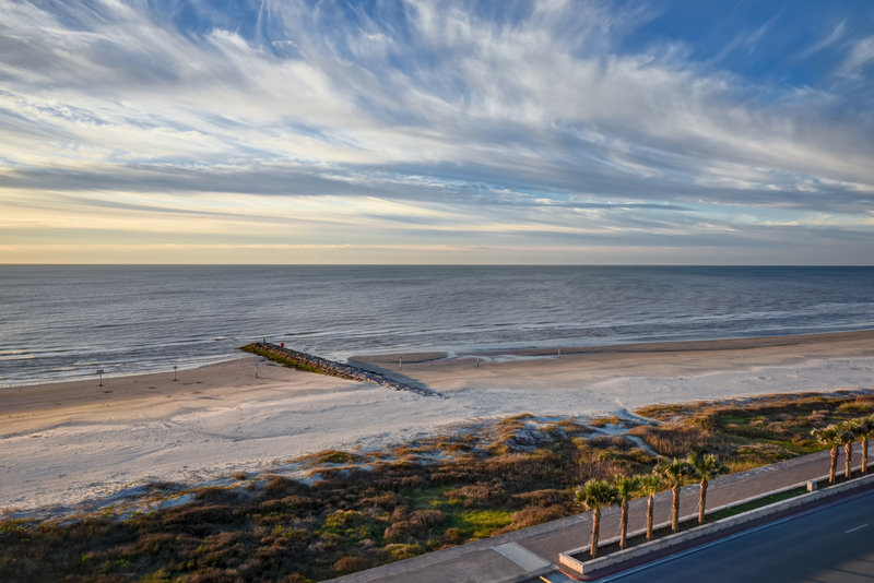 Holiday Inn Express and Suites Galveston Beach-View from Hotel<br/>Image from Leonardo