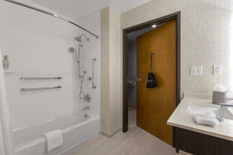 Holiday Inn Express Lake Park-Guest Bathroom<br/>Image from Leonardo