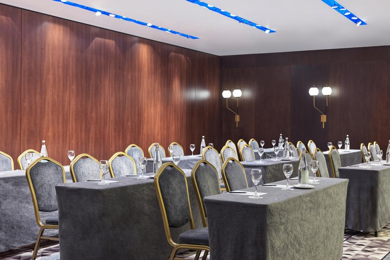 Metropol Palace Belgrade; a Luxury Collection Hotel-Nikola Tesla Room - Classroom Meeting<br/>Image from Leonardo