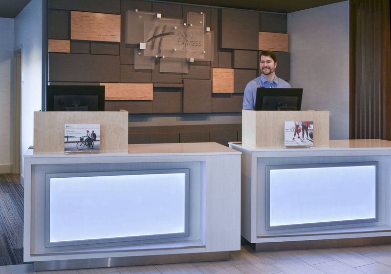 Holiday Inn Express And Suites Madisonville-Front Desk<br/>Image from Leonardo