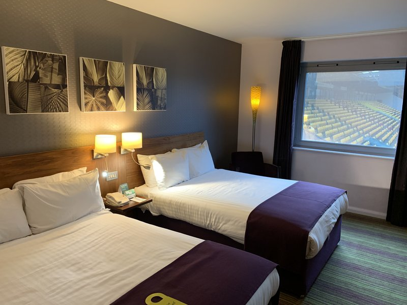 Holiday Inn Norwich City-Partial View of pitch, full view not guaranteed, max 2 ad & 2 kids<br/>Image from Leonardo