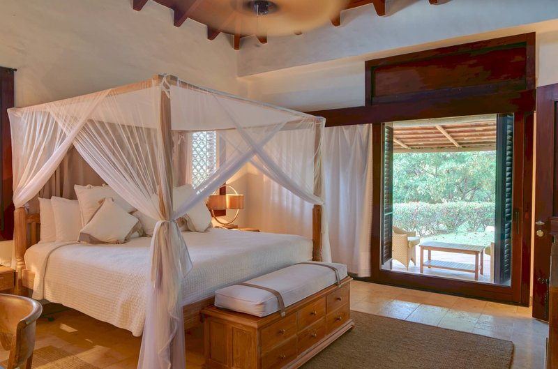 Young  Island  Resort-Carenage Suite Bedroom<br/>Image from Leonardo
