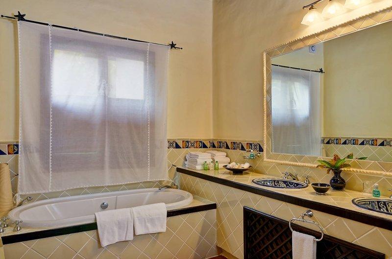 Young  Island  Resort-Carenage Suite Bathroom<br/>Image from Leonardo