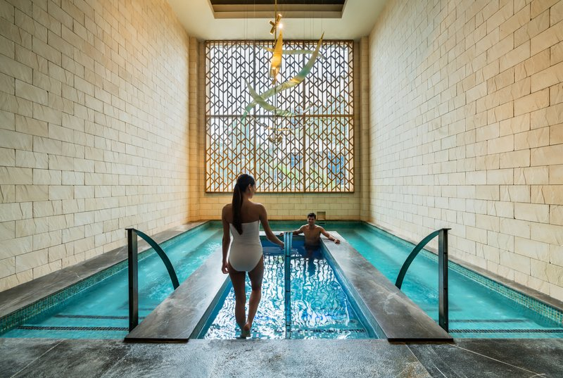 Hyatt Zilara Cancun - Zen Spa Hydrotherapy Hot Cold Bath Couple <br/>Image from Leonardo