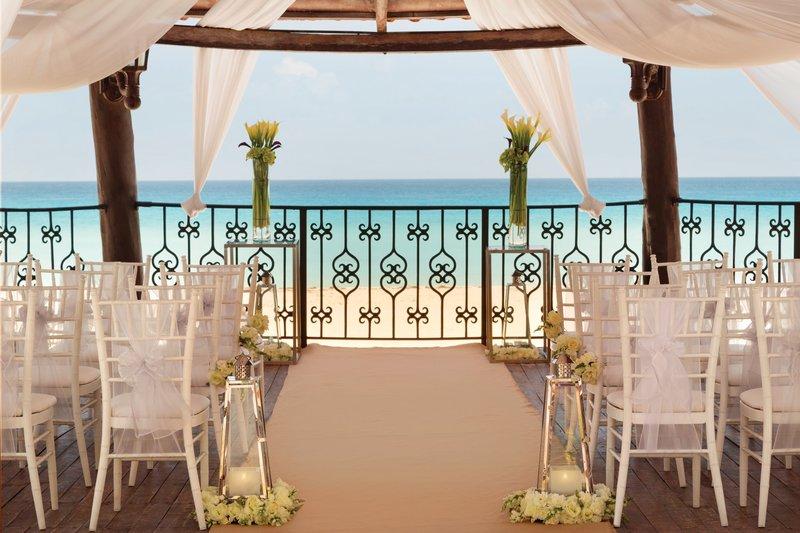 Hyatt Zilara Cancun - Wedding Gazebo Deatiled <br/>Image from Leonardo