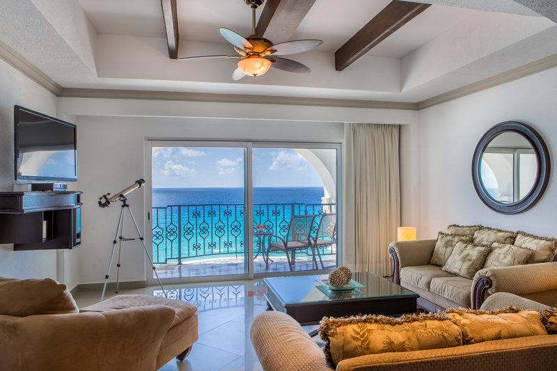 Hyatt Zilara Cancun - Presidential Suite Living Room <br/>Image from Leonardo