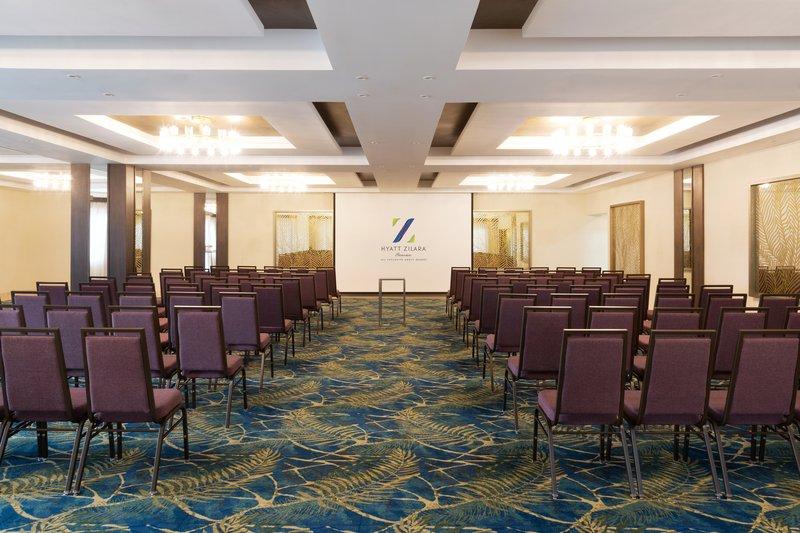 Hyatt Zilara Cancun - Laguna Ballroom Theater Setup <br/>Image from Leonardo