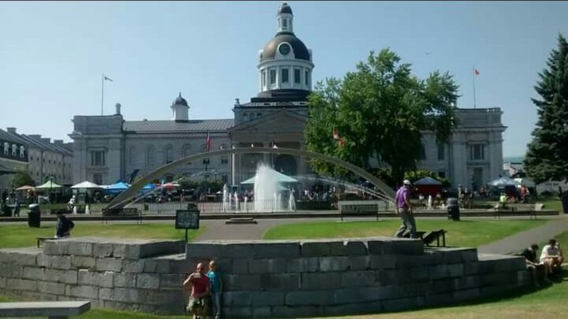 Holiday Inn Kingston - Waterfront-City Hall park in the summer<br/>Image from Leonardo