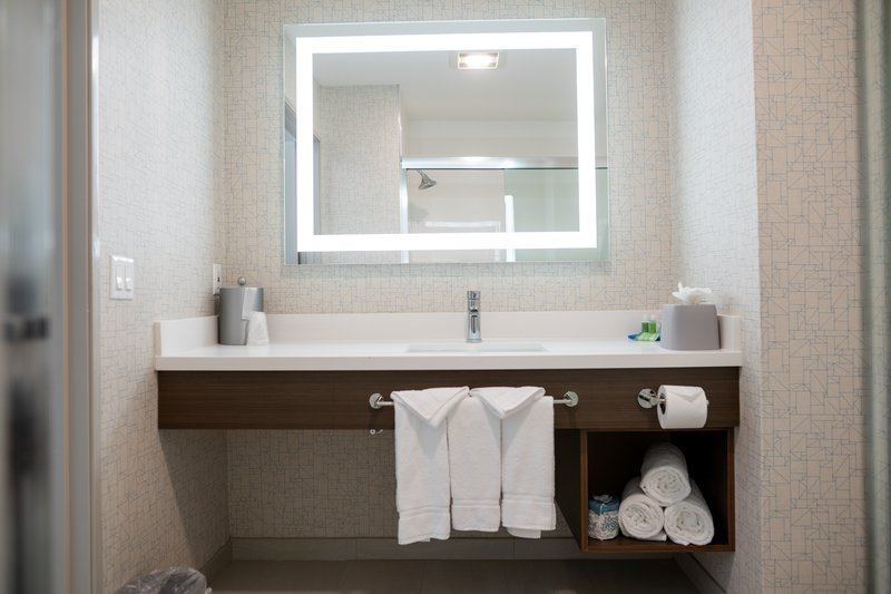 Holiday Inn Express San Clemente North-Guest Bathroom<br/>Image from Leonardo