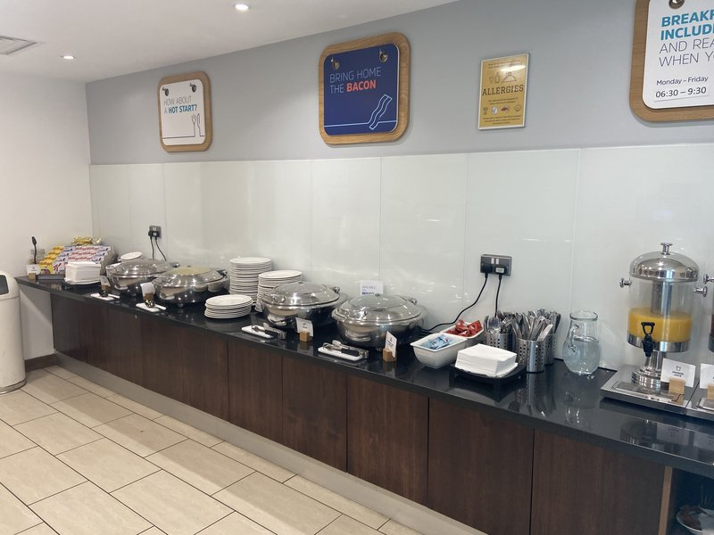 Holiday Inn Express Burnley M65, Jct.10-Breakfast Bar<br/>Image from Leonardo