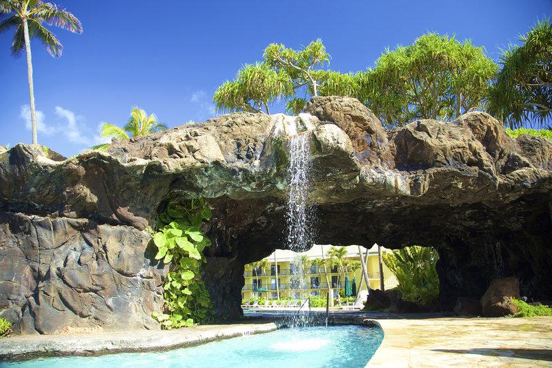 Kauai Beach Resort-KauaiBeachResort-GrottoWaterfall<br/>Image from Leonardo