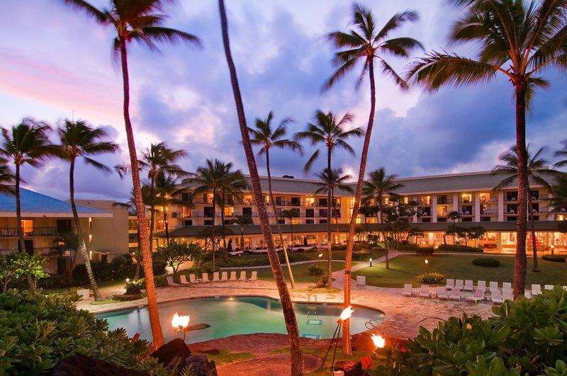 Kauai Beach Resort-KauaiBeachResort-Exterior-Evening<br/>Image from Leonardo