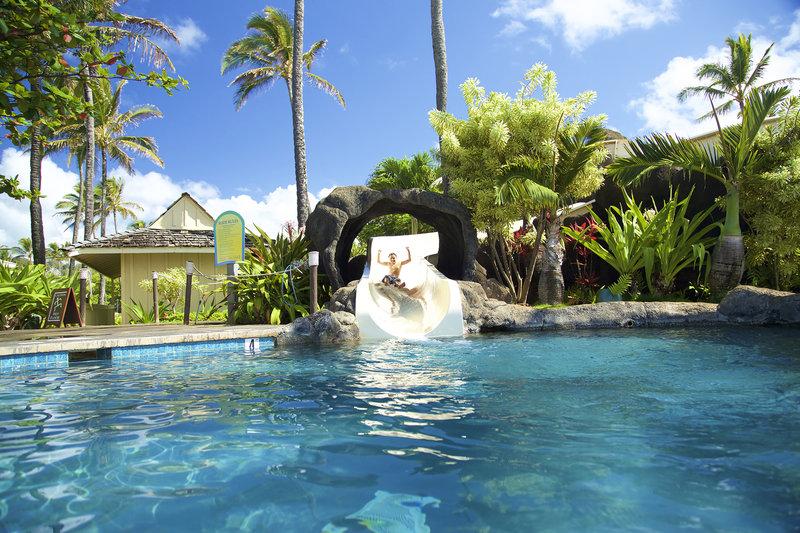 Kauai Beach Resort-KauaiBeachResort-Pool-Slide<br/>Image from Leonardo