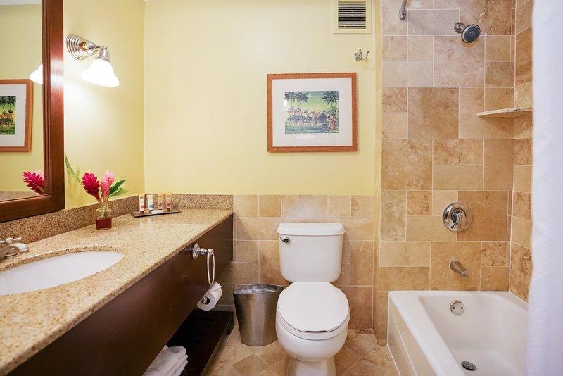 Kauai Beach Resort-Kauai Beach Resort - Standard Bathroom<br/>Image from Leonardo