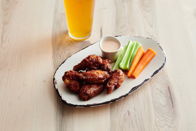 Holiday Inn Columbia Downtown-Small Bites: BBQ Wings served nightly<br/>Image from Leonardo