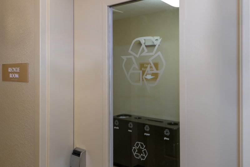 Candlewood Suites Mobile-Downtown-Self service Recycle Rooms on each floor <br/>Image from Leonardo