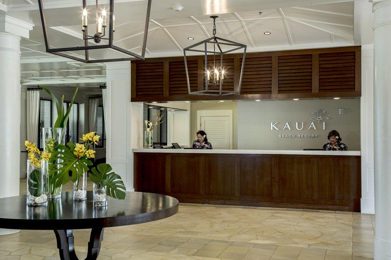Kauai Beach Resort-KauaiBeachResort-FrontDesk<br/>Image from Leonardo