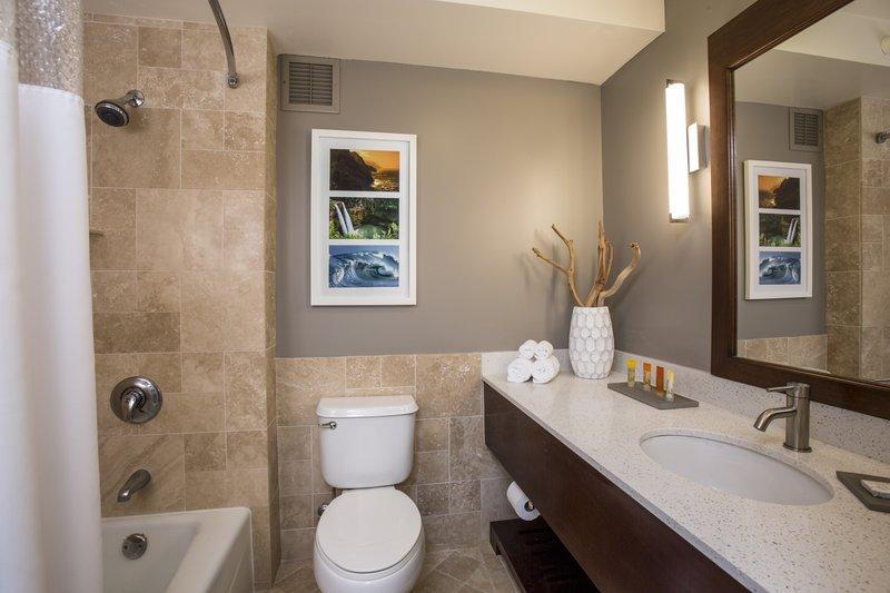Kauai Beach Resort-Kauai Beach Resort Deluxe Room Bathroom Amenities<br/>Image from Leonardo