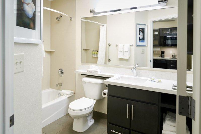 Candlewood Suites Boston-Burlington-Guestroom Bathroom<br/>Image from Leonardo