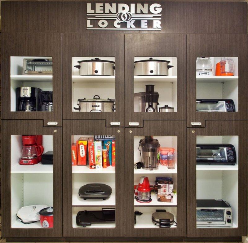 Candlewood Suites Boston-Burlington-Lending Locker - Borrow Cooking Appliances For Free!<br/>Image from Leonardo