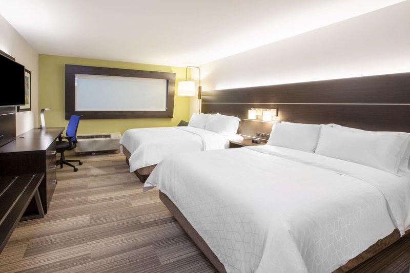 Holiday Inn Express & Suites Rockford-Loves Park-Queen Bed Guest Room<br/>Image from Leonardo