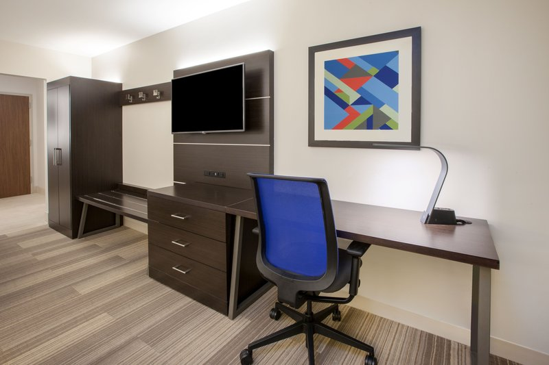 Holiday Inn Express & Suites Rockford-Loves Park-Room Feature<br/>Image from Leonardo