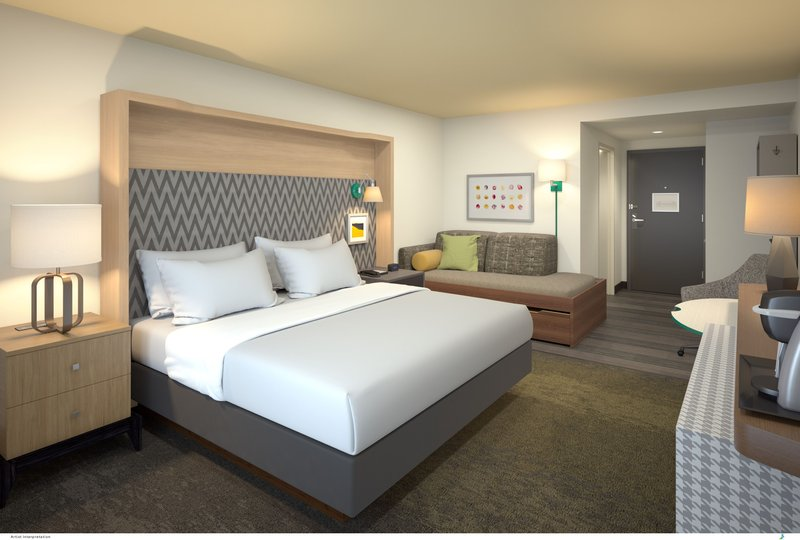 Holiday Inn Omaha Downtown-Airport-Single King with Trundle<br/>Image from Leonardo