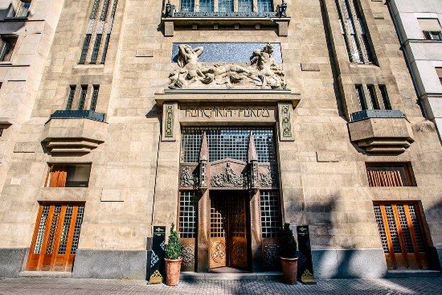 Continental Hotel Budapest-Hotel Entrance<br/>Image from Leonardo