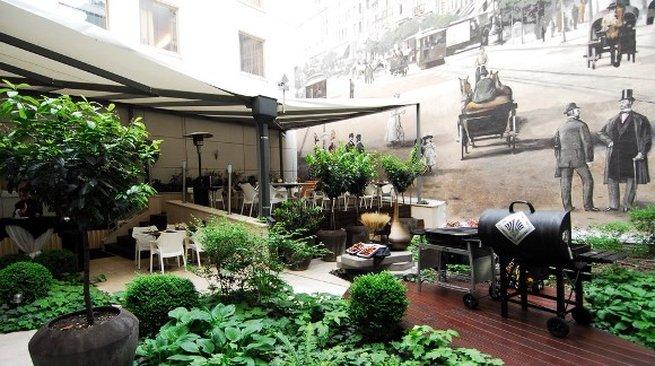 Continental Hotel Budapest-Terrace<br/>Image from Leonardo