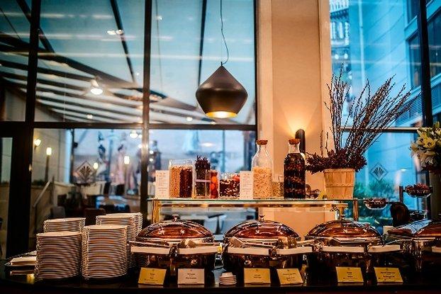 Continental Hotel Budapest-Buffet Breakfast<br/>Image from Leonardo