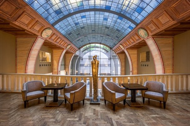 Continental Hotel Budapest-Gallery Cafe<br/>Image from Leonardo