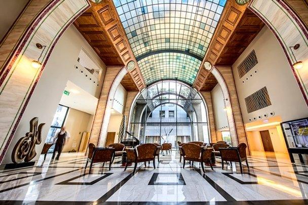 Continental Hotel Budapest-Lobby<br/>Image from Leonardo