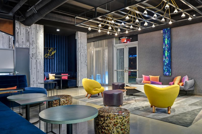 Aloft Secaucus Meadowlands-Lobby<br/>Image from Leonardo