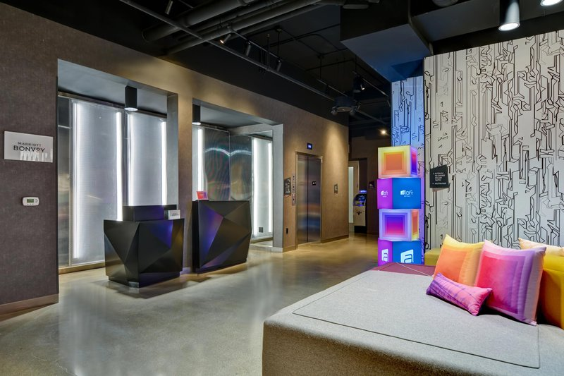 Aloft Secaucus Meadowlands-Front Desk<br/>Image from Leonardo