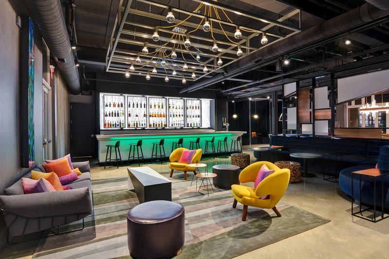 Aloft Secaucus Meadowlands-W YXZ Bar<br/>Image from Leonardo