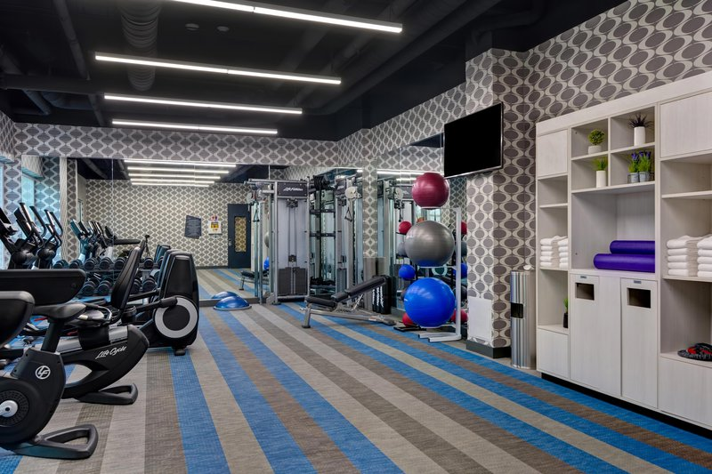 Aloft Secaucus Meadowlands-Fitness Center<br/>Image from Leonardo