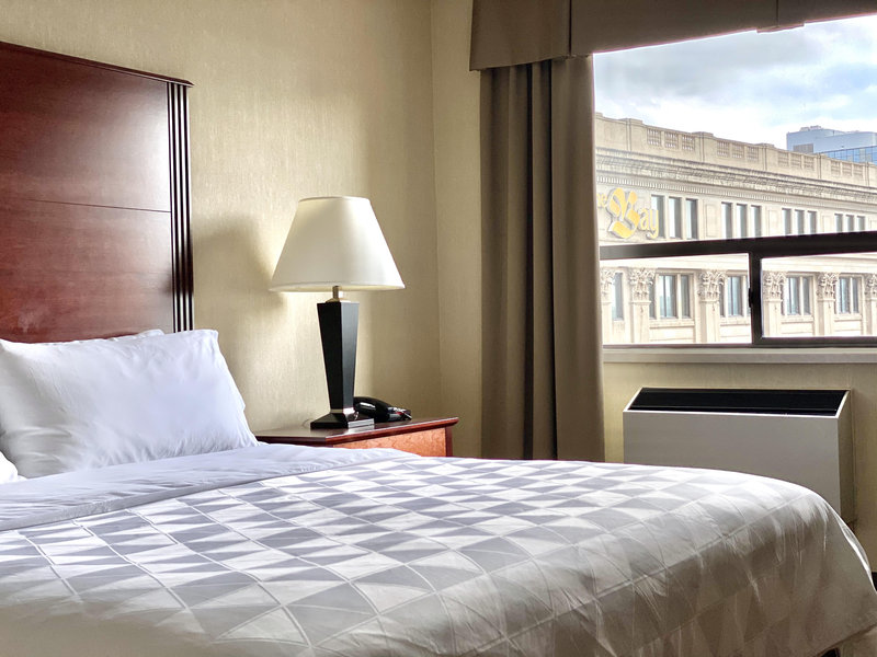 Holiday Inn Hotel & Suites Winnipeg-Downtown-KIng Size Bed<br/>Image from Leonardo