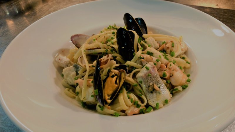 Holiday Inn Southend-Seafood Tagliatelle<br/>Image from Leonardo