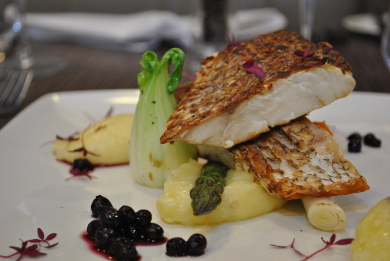 Holiday Inn Southend-Pan fried hake<br/>Image from Leonardo