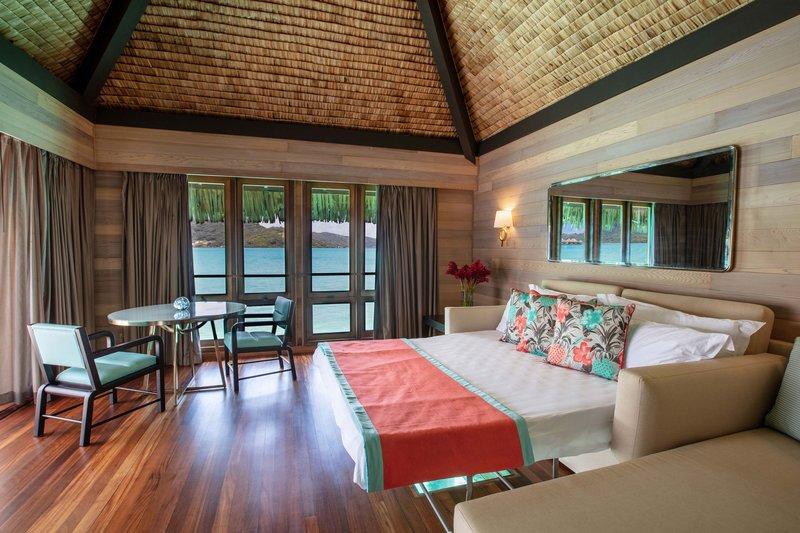 St Regis Resort Bora Bora - Overwater Deluxe Otemanu Villa - Sofa Bed <br/>Image from Leonardo