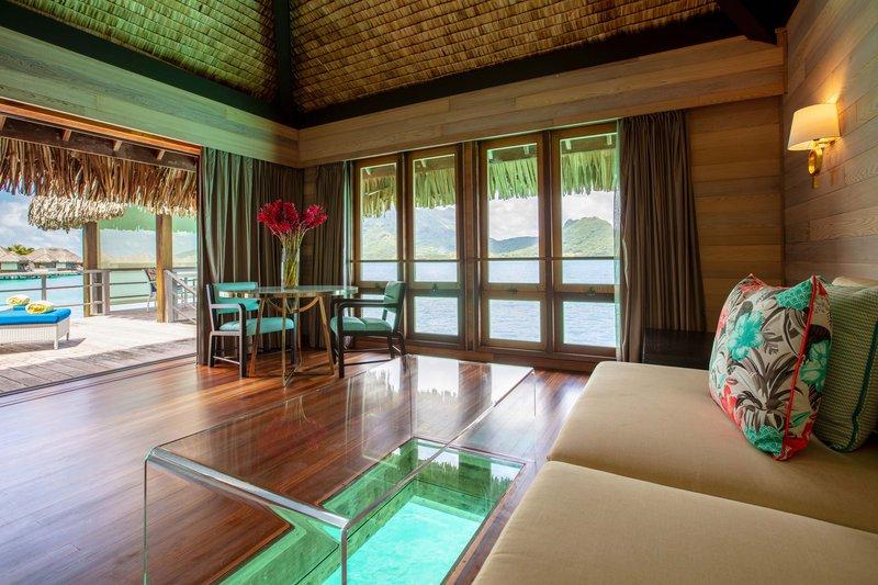 St Regis Resort Bora Bora - Villa Living Room <br/>Image from Leonardo