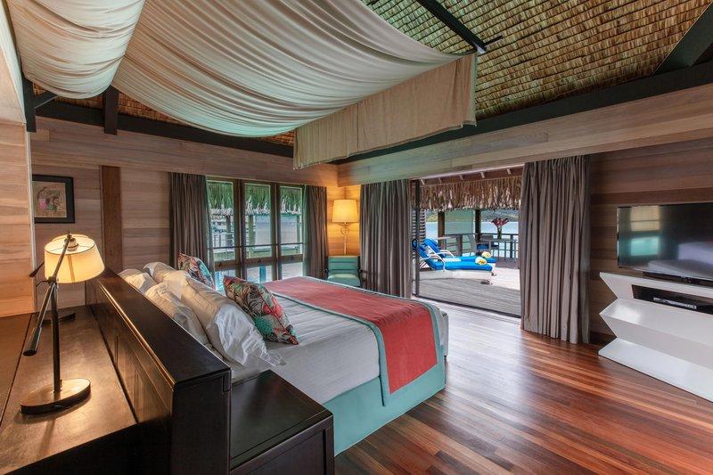 St Regis Resort Bora Bora - Overwater Deluxe Otemanu Villa <br/>Image from Leonardo