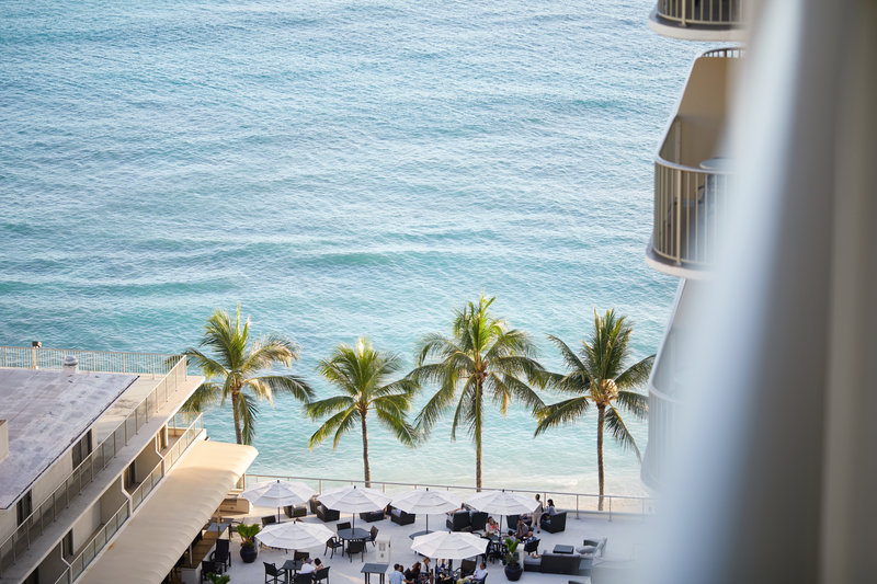 Outrigger Reef Waikiki Beach Resort - Outrigger Reef Waikiki Partial Oceanview View <br/>Image from Leonardo