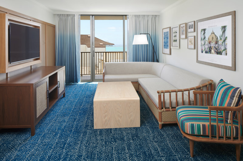 Outrigger Reef Waikiki Beach Resort - Outrigger Reef 1 Bed Ocean View <br/>Image from Leonardo