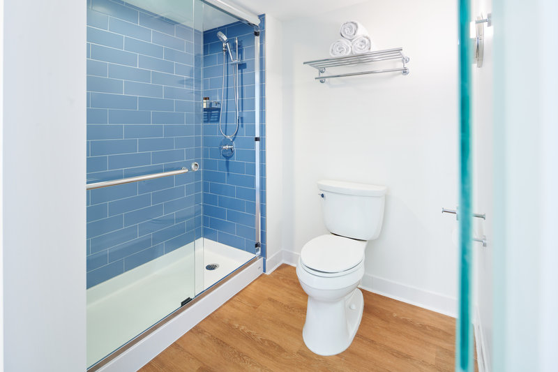 Outrigger Reef Waikiki Beach Resort - Outrigger Reef Bathroom Shower <br/>Image from Leonardo
