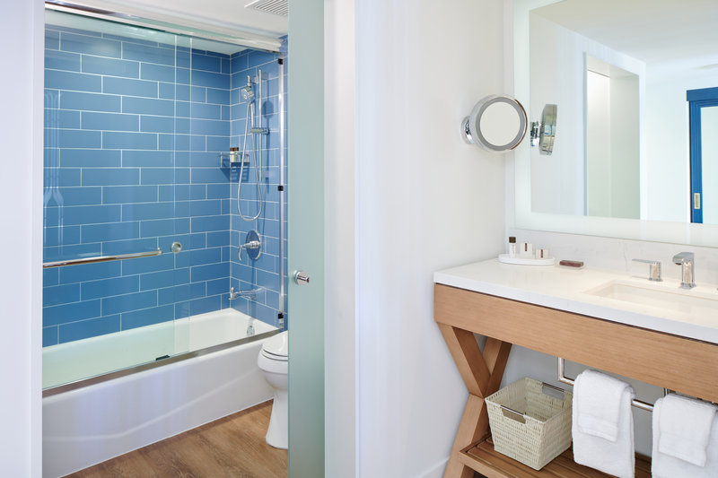 Outrigger Reef Waikiki Beach Resort - Outrigger Reef Bathroom Tub Shower <br/>Image from Leonardo