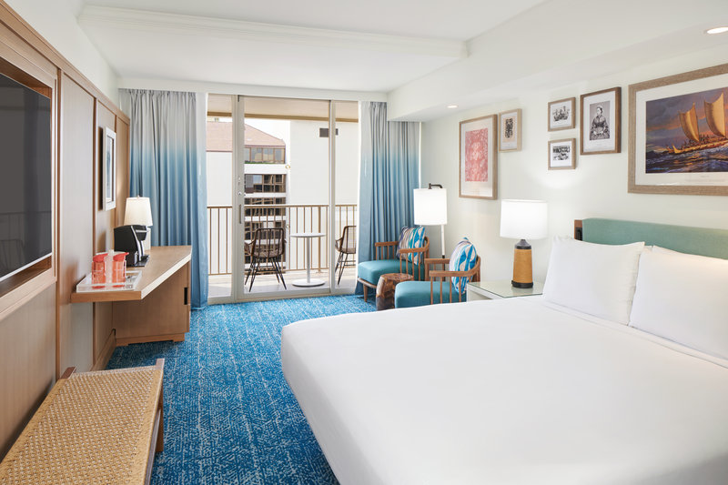Outrigger Reef Waikiki Beach Resort - Outrigger Reef Pacifc Tower Ocean View King <br/>Image from Leonardo