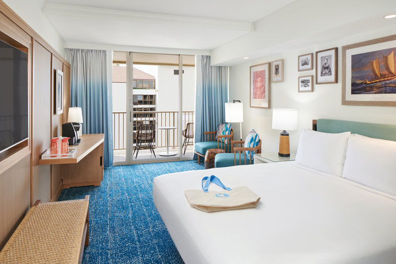 Outrigger Reef Waikiki Beach Resort - Outrigger Reef Pacific Tower Ocean View 1 King <br/>Image from Leonardo