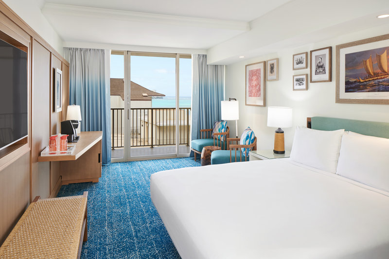 Outrigger Reef Waikiki Beach Resort - Outrigger Reef Partial Oceanview King <br/>Image from Leonardo