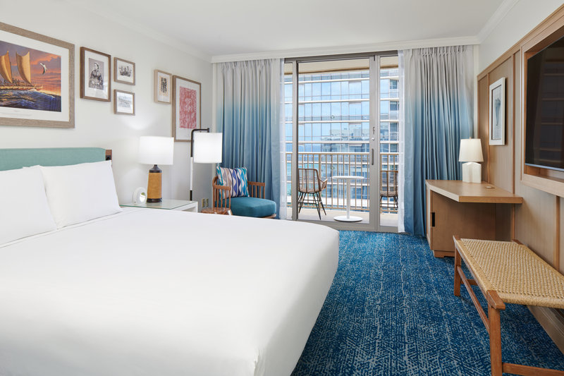 Outrigger Reef Waikiki Beach Resort - Outrigger Reef 1 Bed City View <br/>Image from Leonardo